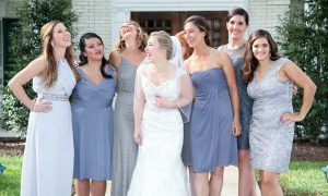 Bridal party Madison Hotel Morristown NJ