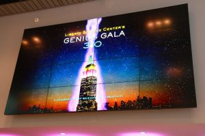 Genius Gala Large screen display