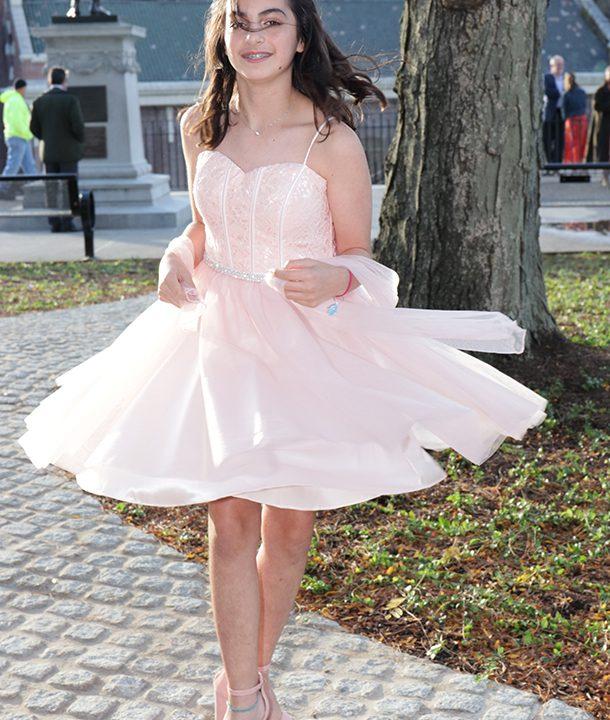 Haley before Havdalah Paterson Falls NJ