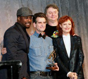 Susan Sarandon was there to honor Dean Kamen