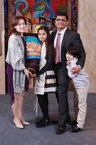 The family Temple Har Shalom Warren NJ