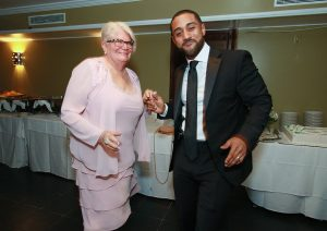 Victor dances with his new mother in law Toro Loco South Orange NJ