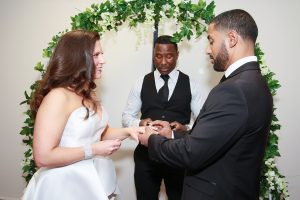 rings exchanged South Orange NJ