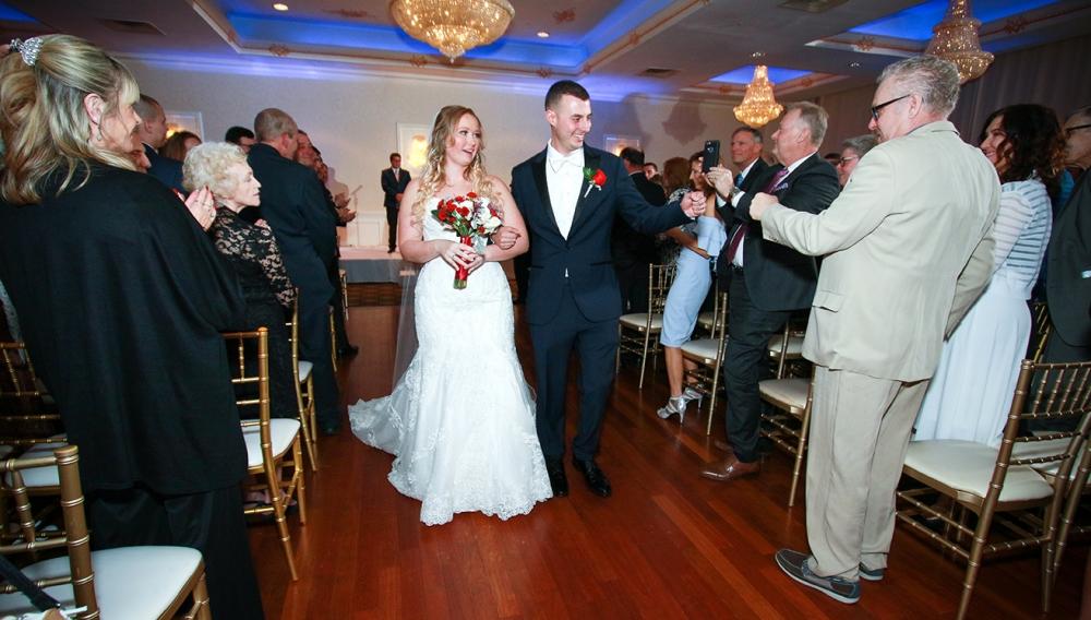 Ceremony Wilsh ire Grand West Orange. NJ