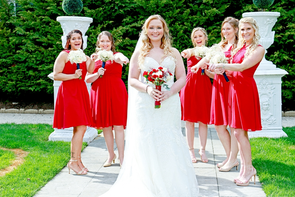 Kelly Bridesmaids. Wilshire Grand. West Orange. NJ