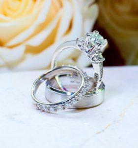 all the rings. Wilshire Grand. West Orange NJ