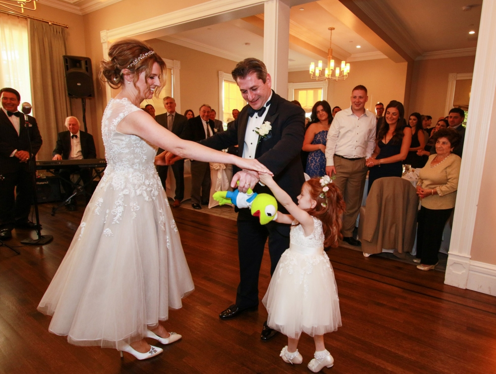 Bride Groom Daughter Douglaston Club Douglaston NY