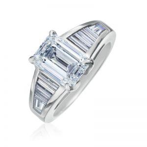 Emerald cut Diamonds
